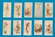 Collectable Cigarette cards set London Characters 1934,